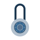 House door lock access equipment icon vector safety password privacy element with key and padlock protection security Stock Photography