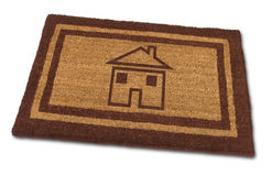House Door mat Stock Photos