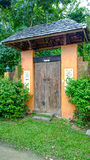 House door in Phuket Thailand Royalty Free Stock Images