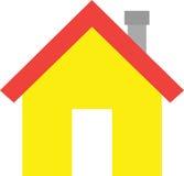House with door Stock Image