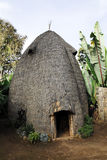 House of the Dorze people, Ethiopia Stock Images