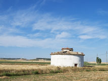 House of doves in Palencia, Spain Royalty Free Stock Images