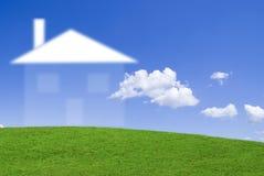 House dream. Do you dream of having a beautiful new house Stock Photo