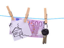 House dream successful earning families Royalty Free Stock Photo