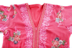 A house dress known as a Jellabiya usually worn by Arabian women Royalty Free Stock Photography
