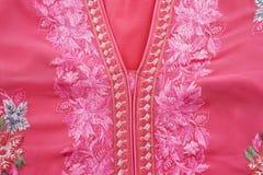 A house dress known as a Jellabiya usually worn by Arabian women Stock Image