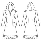 House dress, nightdress Stock Photo