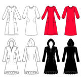 House dress, nightdress Stock Image