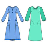 House dress, nightdress Royalty Free Stock Image