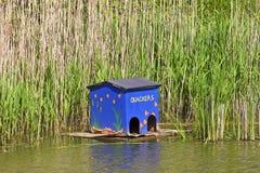 House for ducks Stock Photo