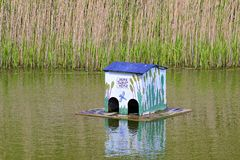 House for ducks Royalty Free Stock Image