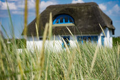House in the dunes Stock Image