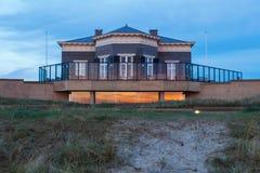 House in the dunes of Scheveningen, Netherlands Stock Image