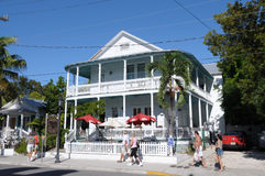 House in Duval Street, Key West Stock Image