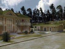 House Dwelling Royalty Free Stock Image