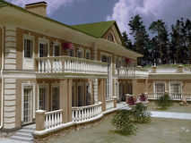 House Dwelling Royalty Free Stock Images