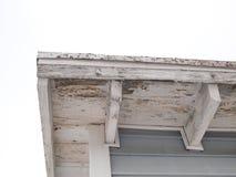 House eave stock photo