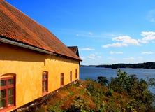 House on Edsviken Stock Photos