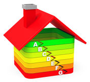 The house efficiency Stock Photo