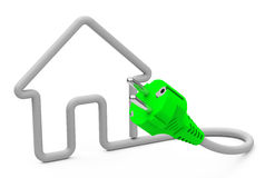 House electric Stock Photo