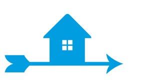 House emblem Royalty Free Stock Image