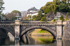 The House of the Emperor. In Tokyo royalty free stock photo