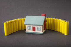 House energy consumption Stock Photography