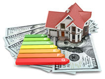 House energy efficiency concept. Stock Image