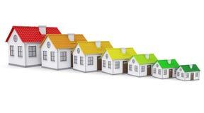 House energy efficiency Stock Image