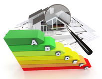 House energy rating Royalty Free Stock Photography