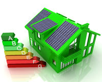 House energy saving concept Royalty Free Stock Photo