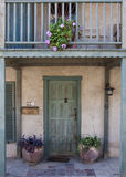House Entrance. An entrance to a house at the American Colony in the city of Jaffa - Israel Stock Image