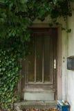 House Entrance Abandoned royalty free stock photography
