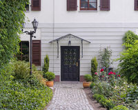 House entrance, Altenburg, Thuringia Germany Royalty Free Stock Photos