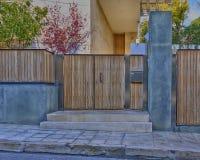 House entrance, Athens, Greece Royalty Free Stock Photos