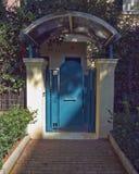 House entrance, Athens  Greece Stock Photos