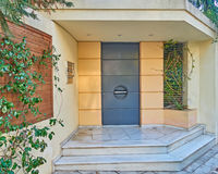 House entrance, Athens Greece Stock Images