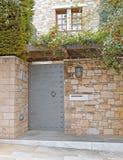 House entrance, Athens Greece. Vintage house entrance, Athens Greece royalty free stock photography