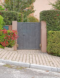 House entrance, Athens northern suburbs Stock Photography