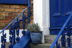 House entrance stock photography