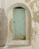 House entrance in a Mediterranean island Royalty Free Stock Image