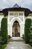 House entrance - Putna monastery Stock Photography