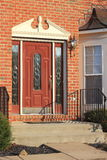 House Entrance Door Stock Photography