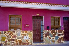 House entrance in Tenerife, Canaries Royalty Free Stock Photos