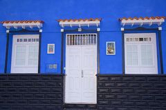 House entrance in Tenerife, Canaries Stock Images