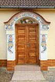 House entry in Moravia Royalty Free Stock Image