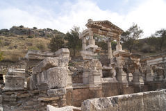 The house in Ephesus Royalty Free Stock Photos