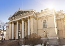 The House of the Estates, a historical building in Helsinki, Finland Royalty Free Stock Photo
