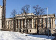 The House of the Estates, a historical building in Helsinki, Finland Stock Photography