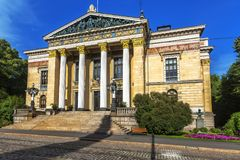 House of the Estates, historical building in Helsinki Royalty Free Stock Photo